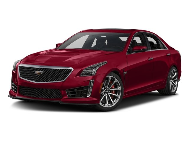 Red Obsession Tintcoat 2018 Cadillac CTS-V Sedan Pictures CTS-V Sedan 4D V-Series V8 photos front view