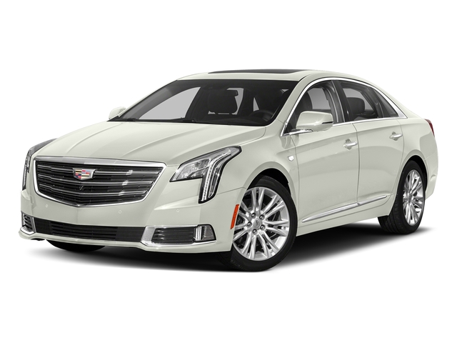 Crystal White Tricoat 2018 Cadillac XTS Pictures XTS Sedan 4D Luxury V6 photos front view