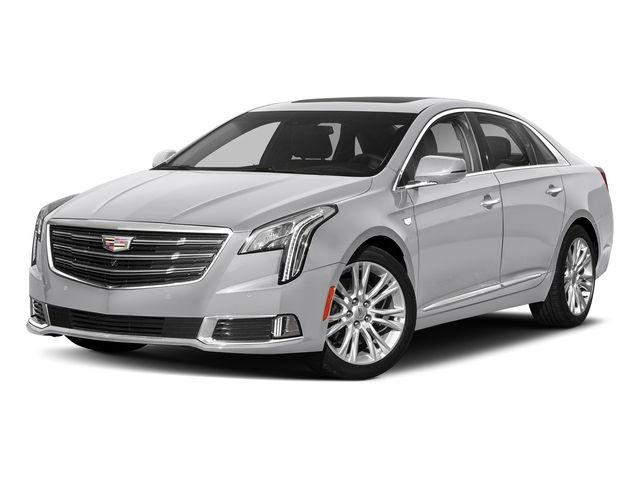 Radiant Silver Metallic 2018 Cadillac XTS Pictures XTS Sedan 4D Luxury V6 photos front view