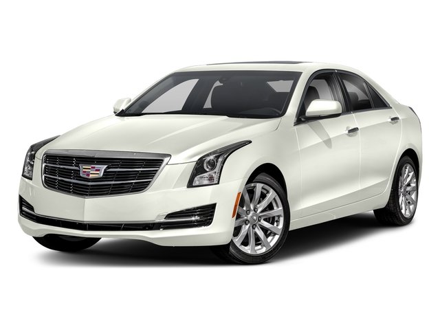 Crystal White Tricoat 2018 Cadillac ATS Sedan Pictures ATS Sedan 4D Premium Luxury AWD V6 photos front view