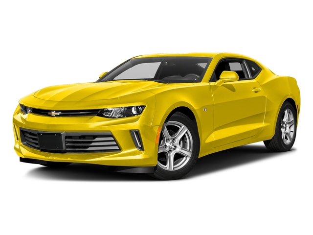 Bright Yellow 2018 Chevrolet Camaro Pictures Camaro 2dr Cpe LT w/2LT photos front view