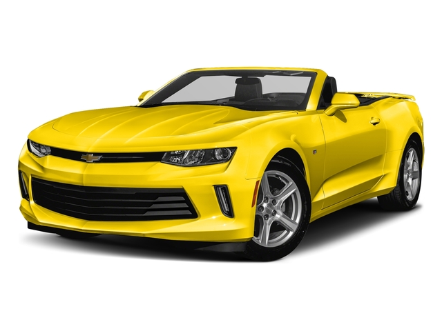 Bright Yellow 2018 Chevrolet Camaro Pictures Camaro 2dr Conv LT w/2LT photos front view