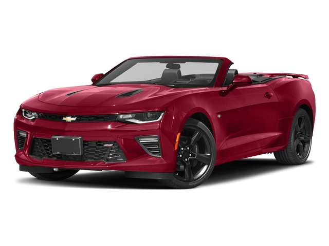Garnet Red Tintcoat 2018 Chevrolet Camaro Pictures Camaro 2dr Conv SS w/2SS photos front view