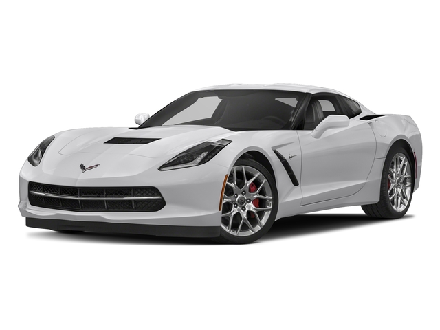 Blade Silver Metallic 2018 Chevrolet Corvette Pictures Corvette 2dr Stingray Cpe w/2LT photos front view