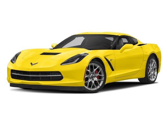 Corvette Racing Yellow Tintcoat 2018 Chevrolet Corvette Pictures Corvette 2dr Stingray Cpe w/2LT photos front view