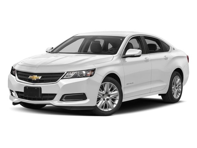 Summit White 2018 Chevrolet Impala Pictures Impala 4dr Sdn LS w/1FL photos front view