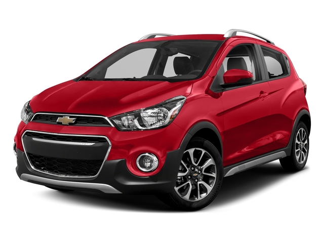 Red Hot 2018 Chevrolet Spark Pictures Spark 5dr HB Man ACTIV photos front view
