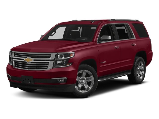 Siren Red Tintcoat 2018 Chevrolet Tahoe Pictures Tahoe 2WD 4dr Commercial photos front view