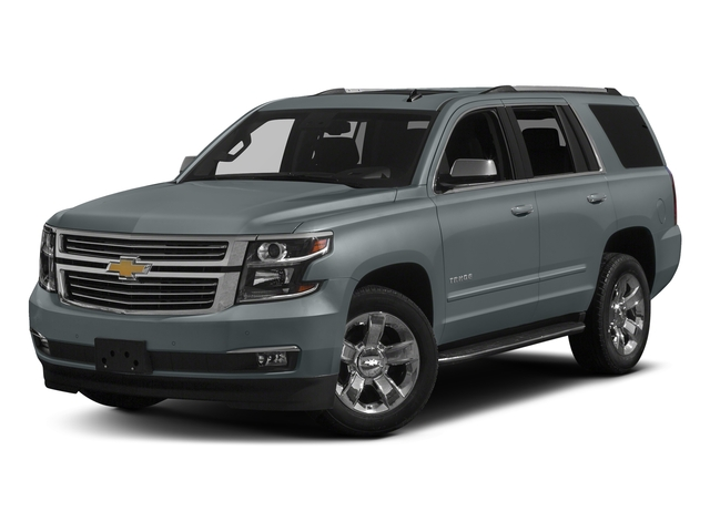 Satin Steel Metallic 2018 Chevrolet Tahoe Pictures Tahoe 2WD 4dr Commercial photos front view