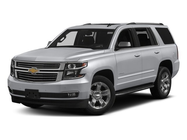 Silver Ice Metallic 2018 Chevrolet Tahoe Pictures Tahoe 2WD 4dr Commercial photos front view