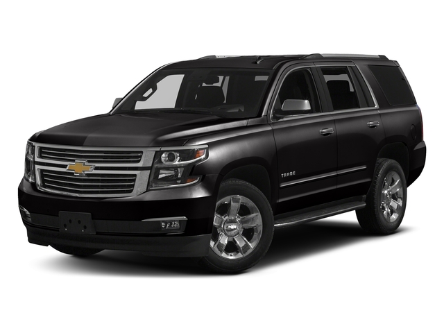 Black 2018 Chevrolet Tahoe Pictures Tahoe 2WD 4dr Commercial photos front view