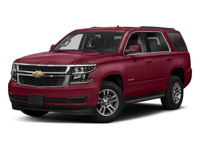 Siren Red Tintcoat 2018 Chevrolet Tahoe Pictures Tahoe 2WD 4dr LT photos front view