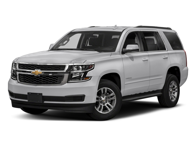 Silver Ice Metallic 2018 Chevrolet Tahoe Pictures Tahoe 2WD 4dr LT photos front view