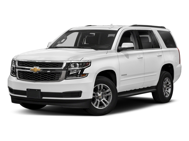 Summit White 2018 Chevrolet Tahoe Pictures Tahoe 2WD 4dr LT photos front view