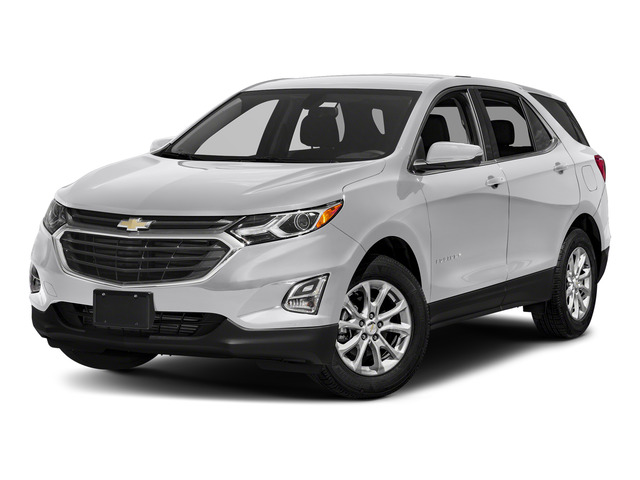 Silver Ice Metallic 2018 Chevrolet Equinox Pictures Equinox AWD 4dr LT w/3LT photos front view