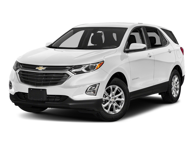 Summit White 2018 Chevrolet Equinox Pictures Equinox AWD 4dr LT w/3LT photos front view