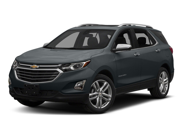 Nightfall Gray Metallic 2018 Chevrolet Equinox Pictures Equinox FWD 4dr Premier w/1LZ photos front view