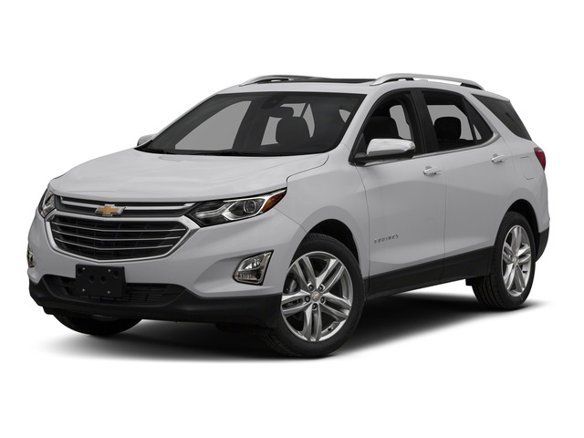 Silver Ice Metallic 2018 Chevrolet Equinox Pictures Equinox FWD 4dr Premier w/1LZ photos front view
