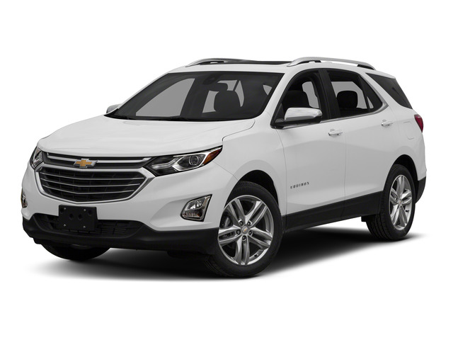 Summit White 2018 Chevrolet Equinox Pictures Equinox FWD 4dr Premier w/1LZ photos front view