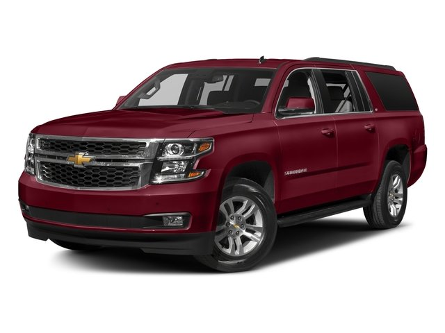 Siren Red Tintcoat 2018 Chevrolet Suburban Pictures Suburban 4WD 4dr 1500 LT photos front view