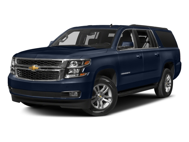 Blue Velvet Metallic 2018 Chevrolet Suburban Pictures Suburban 4WD 4dr 1500 LT photos front view