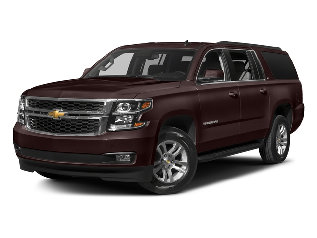 Havana Metallic 2018 Chevrolet Suburban Pictures Suburban 4WD 4dr 1500 LT photos front view