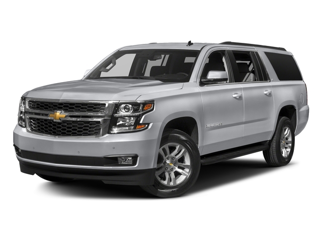 Silver Ice Metallic 2018 Chevrolet Suburban Pictures Suburban 4WD 4dr 1500 LT photos front view