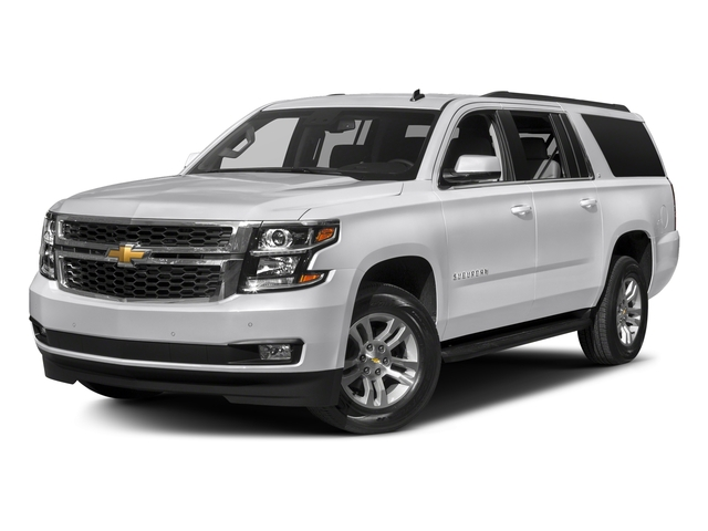 Summit White 2018 Chevrolet Suburban Pictures Suburban 4WD 4dr 1500 LT photos front view