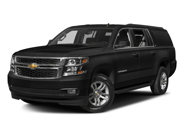 Black 2018 Chevrolet Suburban Pictures Suburban 4WD 4dr 1500 LT photos front view
