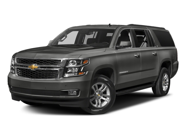 Tungsten Metallic 2018 Chevrolet Suburban Pictures Suburban 4WD 4dr 1500 LT photos front view