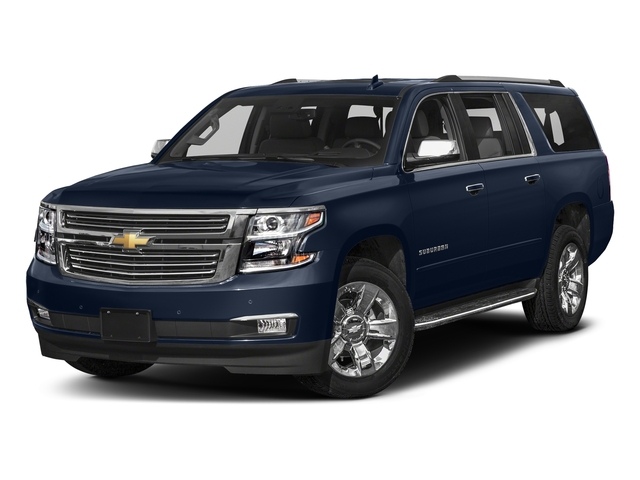 Blue Velvet Metallic 2018 Chevrolet Suburban Pictures Suburban 2WD 4dr 1500 Premier photos front view