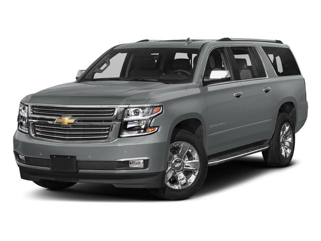 Satin Steel Metallic 2018 Chevrolet Suburban Pictures Suburban 2WD 4dr 1500 Premier photos front view