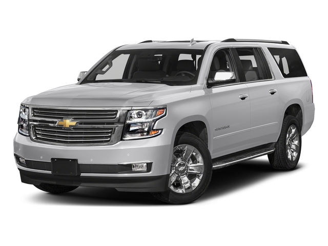 Silver Ice Metallic 2018 Chevrolet Suburban Pictures Suburban 2WD 4dr 1500 Premier photos front view