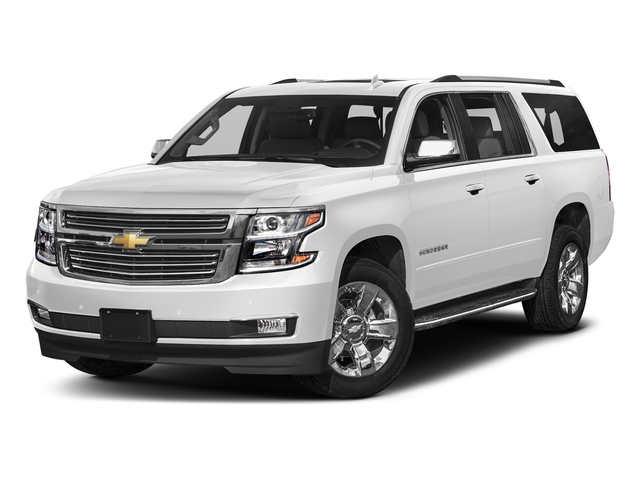 Summit White 2018 Chevrolet Suburban Pictures Suburban 2WD 4dr 1500 Premier photos front view