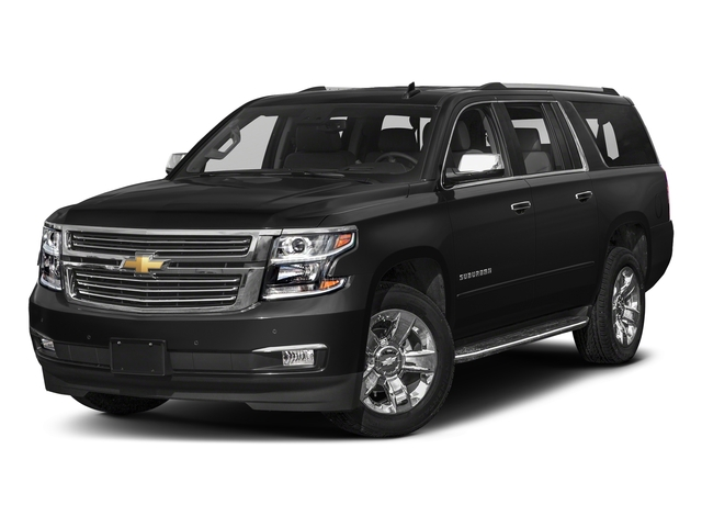 Black 2018 Chevrolet Suburban Pictures Suburban 2WD 4dr 1500 Premier photos front view