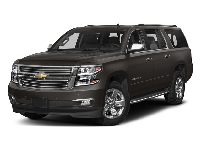 Tungsten Metallic 2018 Chevrolet Suburban Pictures Suburban 2WD 4dr 1500 Premier photos front view