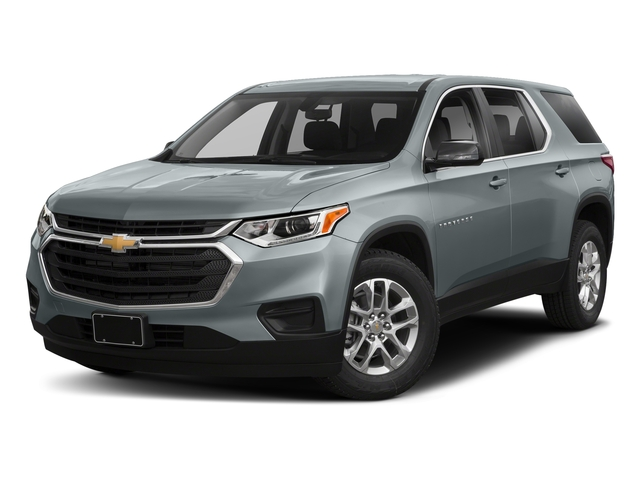 Satin Steel Metallic 2018 Chevrolet Traverse Pictures Traverse AWD 4dr LS w/1LS photos front view