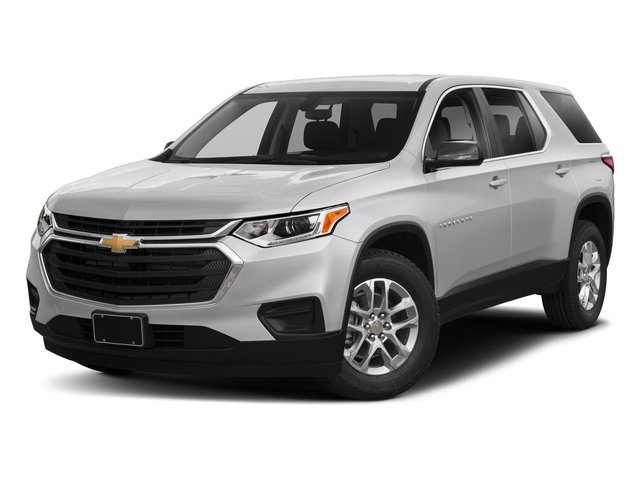Silver Ice Metallic 2018 Chevrolet Traverse Pictures Traverse AWD 4dr LS w/1LS photos front view