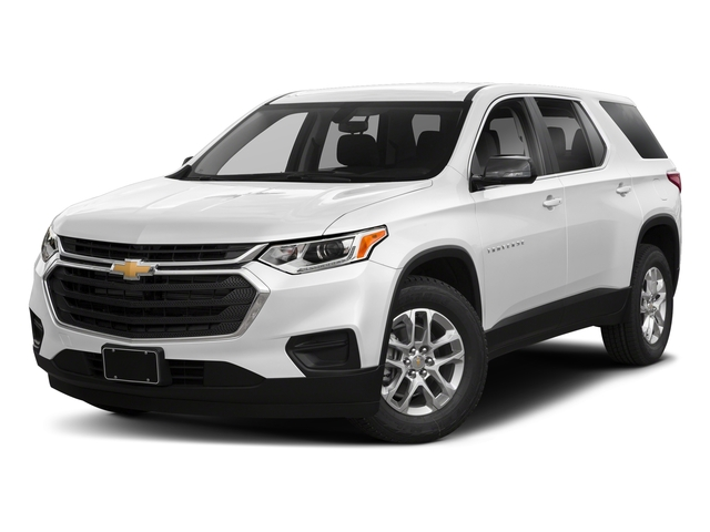 Summit White 2018 Chevrolet Traverse Pictures Traverse FWD 4dr LS w/1FL photos front view