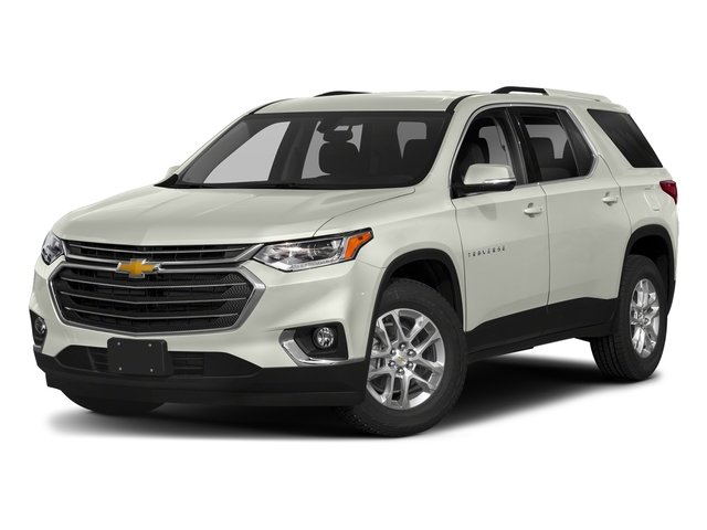 Iridescent Pearl Tricoat 2018 Chevrolet Traverse Pictures Traverse AWD 4dr LT Cloth w/1LT photos front view
