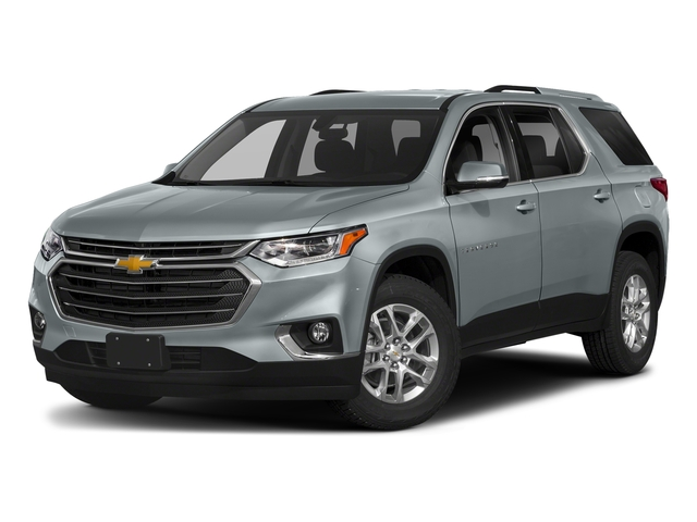 Satin Steel Metallic 2018 Chevrolet Traverse Pictures Traverse AWD 4dr LT Cloth w/1LT photos front view