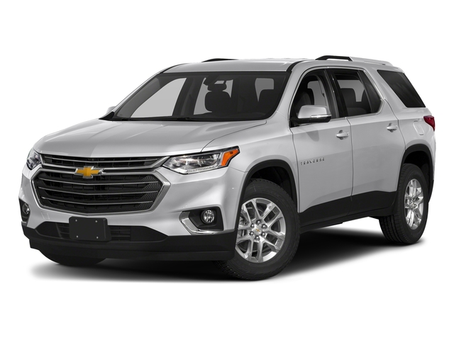 Silver Ice Metallic 2018 Chevrolet Traverse Pictures Traverse FWD 4dr LT Cloth w/2FL photos front view