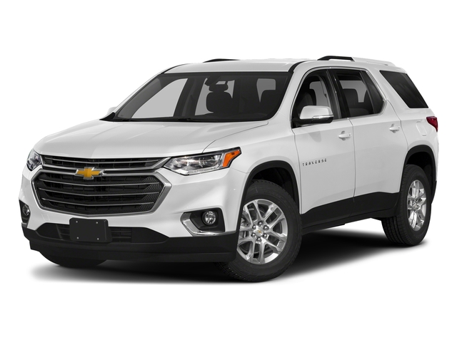 Summit White 2018 Chevrolet Traverse Pictures Traverse AWD 4dr LT Cloth w/1LT photos front view