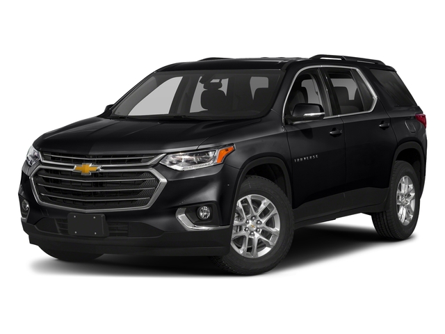 Mosaic Black Metallic 2018 Chevrolet Traverse Pictures Traverse AWD 4dr LT Cloth w/1LT photos front view