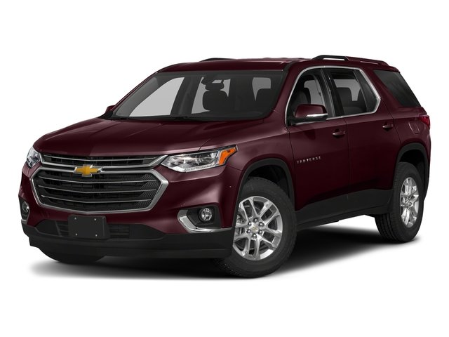 Black Currant Metallic 2018 Chevrolet Traverse Pictures Traverse AWD 4dr LT Cloth w/1LT photos front view