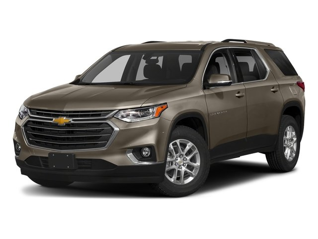 Pepperdust Metallic 2018 Chevrolet Traverse Pictures Traverse AWD 4dr LT Cloth w/1LT photos front view
