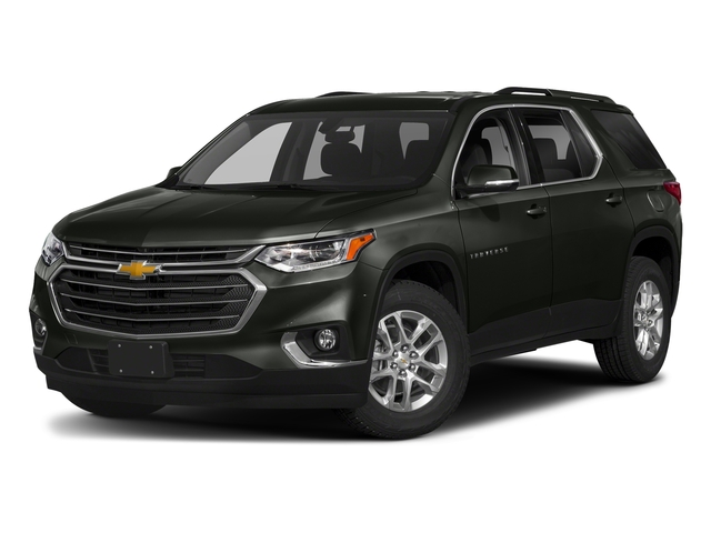 Graphite Metallic 2018 Chevrolet Traverse Pictures Traverse AWD 4dr LT Cloth w/1LT photos front view