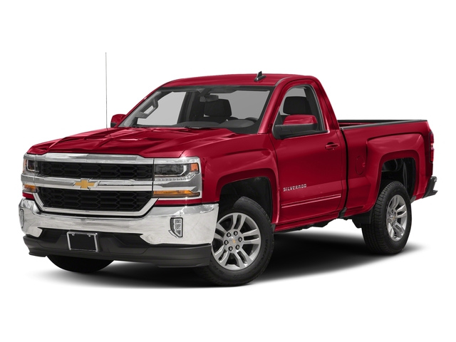 Red Hot 2018 Chevrolet Silverado 1500 Pictures Silverado 1500 4WD Reg Cab 133.0 LT w/2LT photos front view