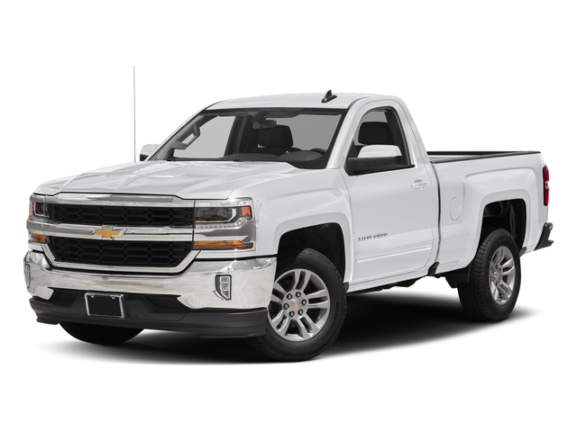 Summit White 2018 Chevrolet Silverado 1500 Pictures Silverado 1500 4WD Reg Cab 133.0 LT w/2LT photos front view