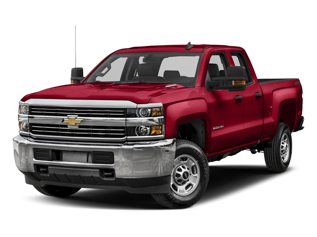 Red Hot 2018 Chevrolet Silverado 2500HD Pictures Silverado 2500HD 2WD Double Cab 158.1 Work Truck photos front view
